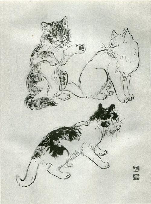 《写意猫技法》(杨海滨)【图片