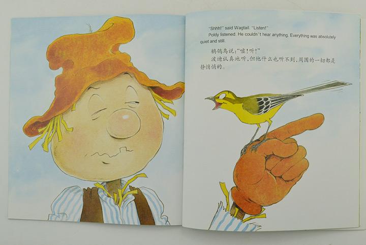 淘书团第3676期:美国引进绘本《稻草人和鸟儿