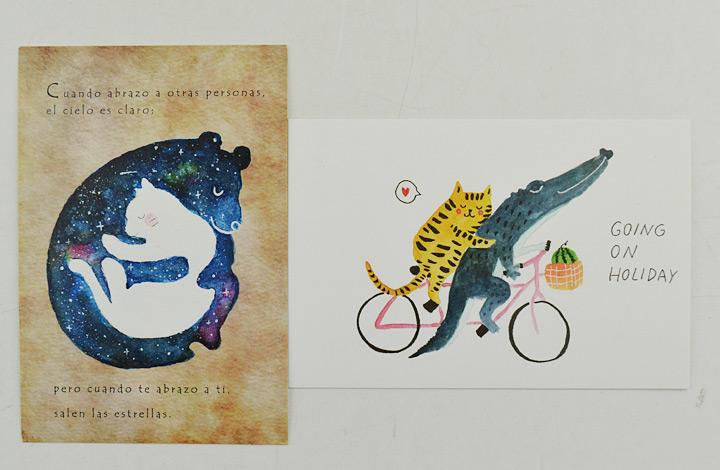 中图明信片:动物奇趣2(6张/套)