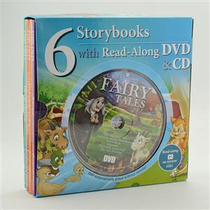 6 Storybooks with Read-Along DVD&CD