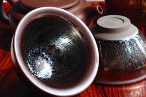 周祥驎款建窑小油滴茶杯