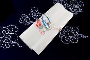 (单张)宣纸手工雕版印刷--飞天