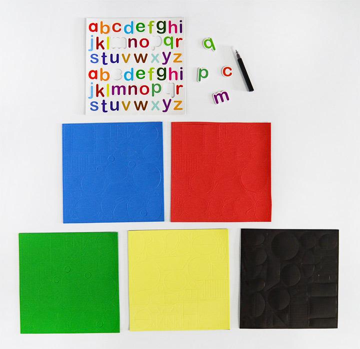 又好玩的 磁力拼图书 盒装全3册,一套结合了七巧板玩法,集创造性