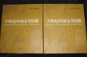 20世纪中国文学经验(上下)
