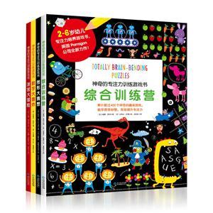 神奇的专注力训练游戏书(全4册)