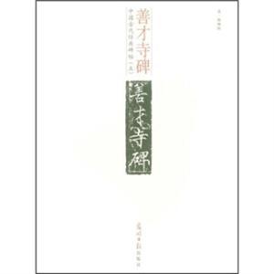 中国古代经典碑帖(五):善才寺碑(释文本)