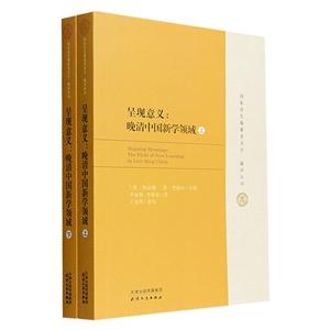 呈现意义:晚清中国新学领域-(上.下册)