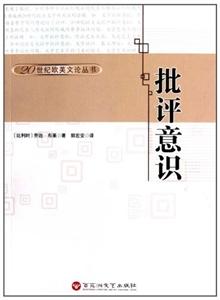 20世纪欧美论丛书:批评意识