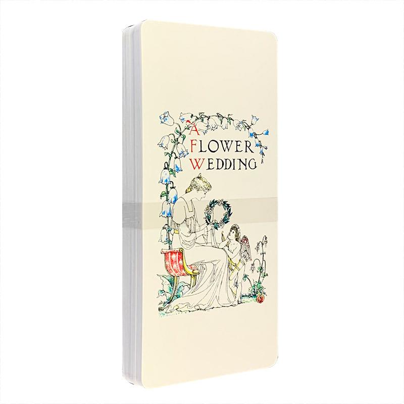 """沃尔特·克兰系列:书签""""鲜花与爱情"""""""
